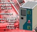 Alimentation Rail-DIN réglable et programmable power supply V360R