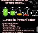 protection batterie Powertector