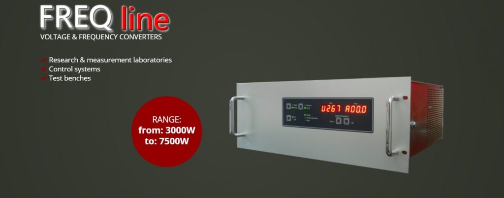 FREQ line frequency changer