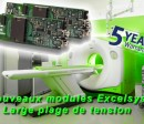 wide output range Excelsys powermods